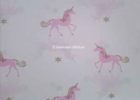 Pink Unicorns ❤ Full Sheet Set ❤ 4-pc