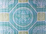 Tropical Seashells & Sand Dollars ☆ Full/Queen Quilt Set ☆ 3-pc
