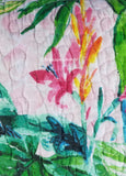Lush Tropical Landscape ☆ Full/Queen Quilt ☆ 1-pc