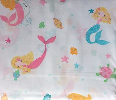 Mermaids ❤ Full Sheet Set ❤ 4-pc