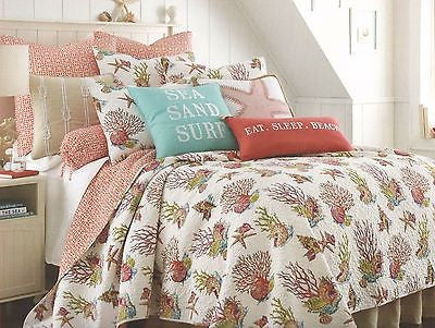 Tropical Marine Life ☆ King Quilt Set ☆ 6-pc