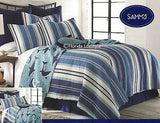 Awesome Sharks ☆ Twin Quilt Set ☆ 2-pc