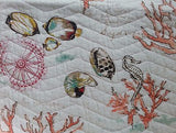 Tropical Marine Life ☆ Full/Queen Quilt Set ☆ 4-pc