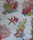 Tropical Marine Life ☆ King Quilt Set ☆ 7-pc