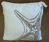 Tropical Gold Starfish ☆ King Quilt Set ☆ 5-pc