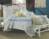 Tropical Gold Starfish ☆ King Quilt Set ☆ 8-pc