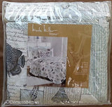 Tropical Marine Life ☆ Twin Quilt Set with Pillow ☆ 3-pc