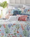 Underwater Tropical Fish ☆ King Quilt Set ☆ 3-pc