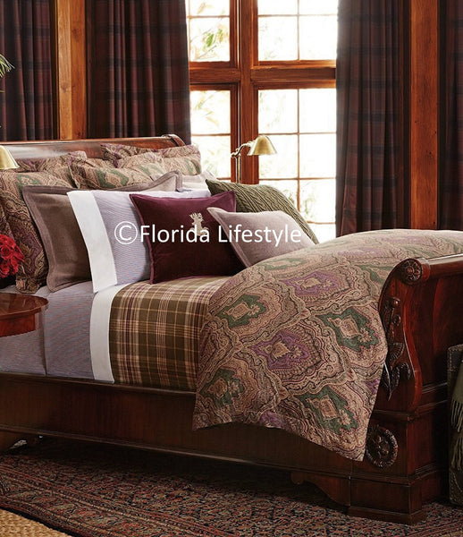Westport Great Compton Paisley ☆ King Duvet Set ☆ 3-pc