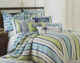 Tropical Fish ☆ Twin Quilt Set ☆ 5-pc