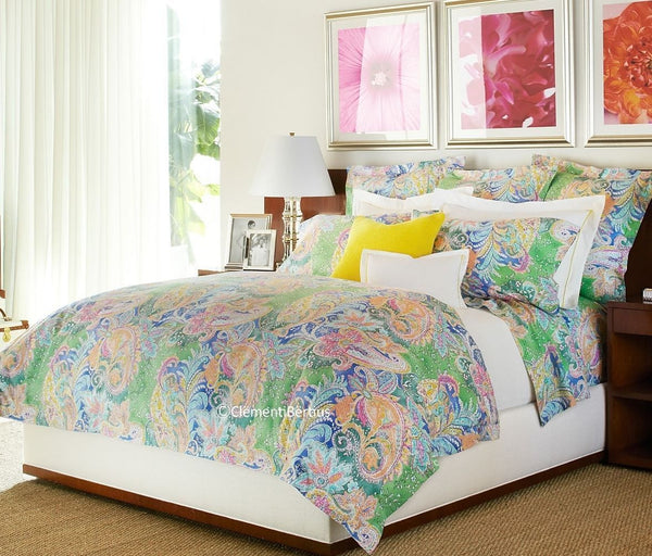 Flying Point Paisley ☆ Full/Queen Duvet Comforter ☆ 1-pc