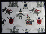 Dragons Castles Knights ☆ Twin Sheet Set ☆ 3-pc