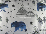 Camping Bears ☆ Twin Comforter Set ☆ 2-pc