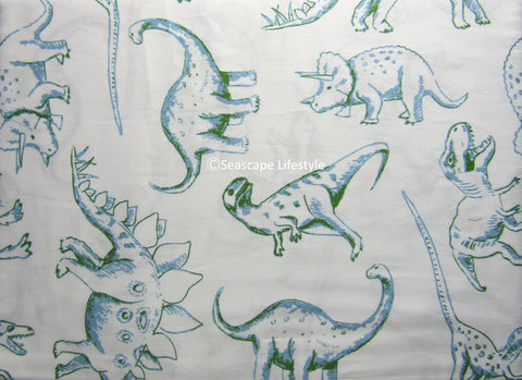 ☆ Dinosaurs ☆ Twin Sheet Set ☆ 3-pc