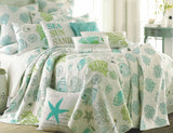 Tropical Sealife ☆ Full/Queen Quilt Set ☆ 3-pc