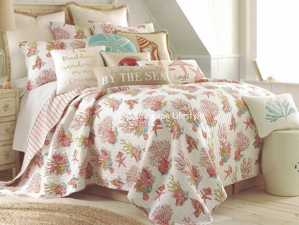 Tropical Marine Life ☆ Full/Queen Quilt Set ☆ 3-pc