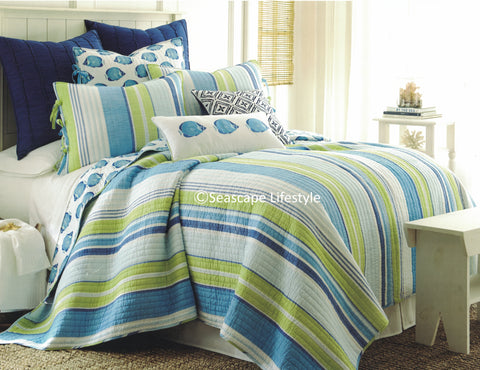 Tropical Fish ☆ King Quilt Set ☆ 3-pc