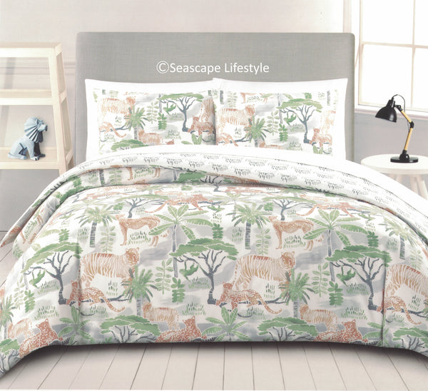African Serengeti ☆ Full/Queen Comforter Set ☆ 3-pc