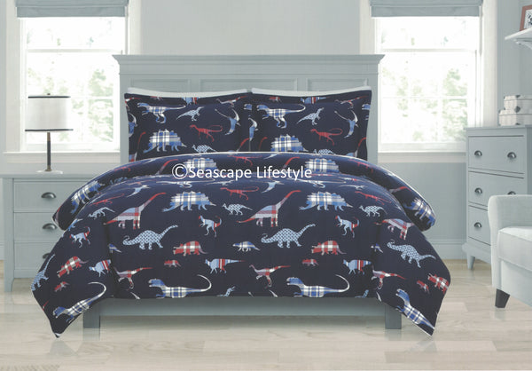 Dinosaurs ☆ Twin Comforter Set ☆ 2-pc