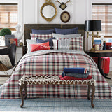 Vintage Plaid ☆ Twin or Twin XL Comforter Set ☆ 2-pc