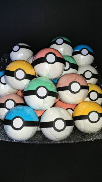 Pokemon Bath Bomb With Character Inside
