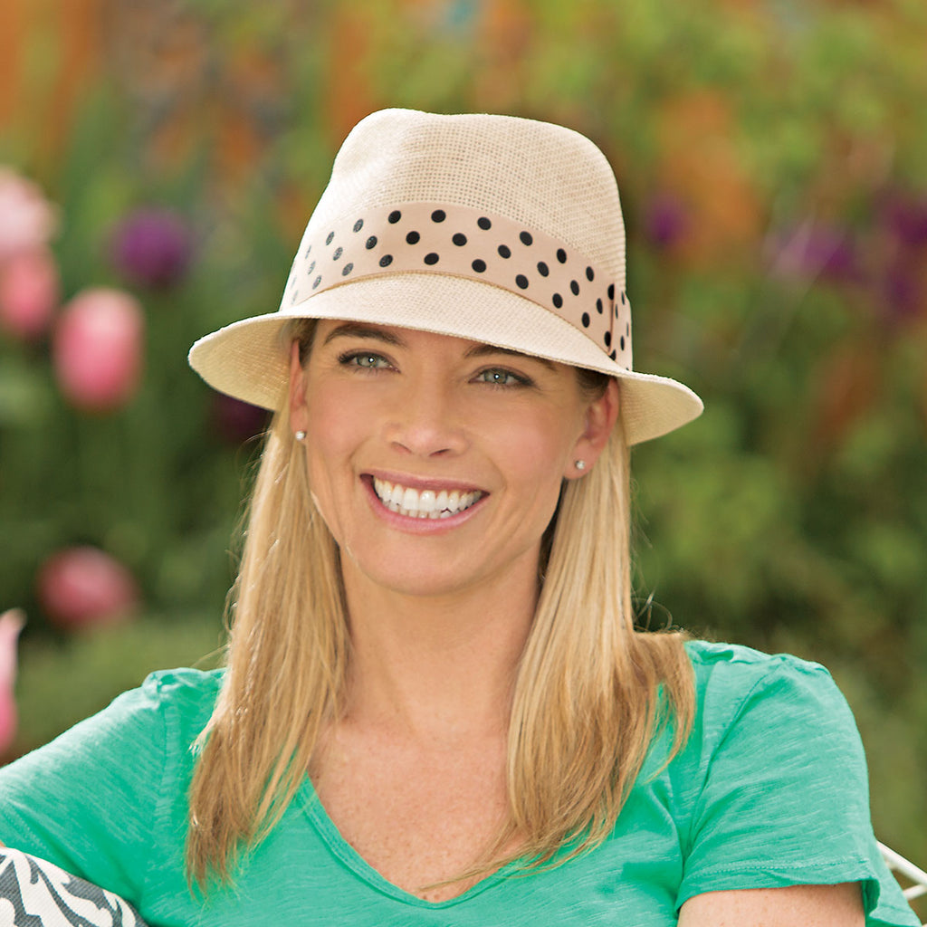 Be sure to take the Gigi on your next stay at the Hilton!  Fun and Fashionable sun protection.