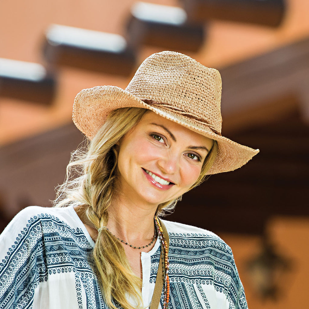 Looking for a special treat for your valentine? Wallaroo's Catriona Fedora Hat and the Hailey Hat will do the trick!