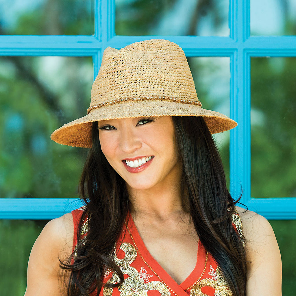 """Travel Time with Linda Cooper"".  Wallaroo Hats and ""Caribbean Dreaming""!"