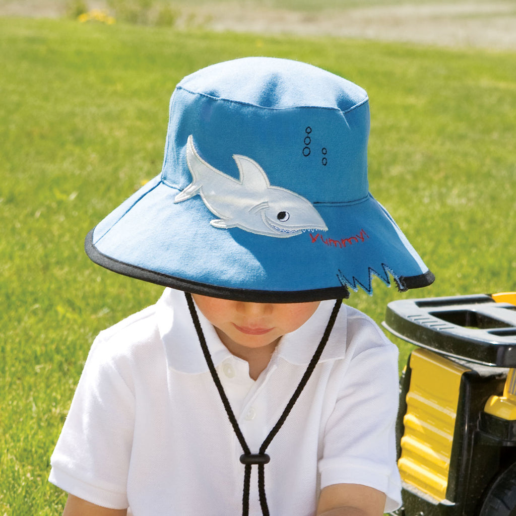 Watch out for the Shark Hat! Tampa Bay Parenting selects Wallaroo as a top pick for summer fun and sun protection.