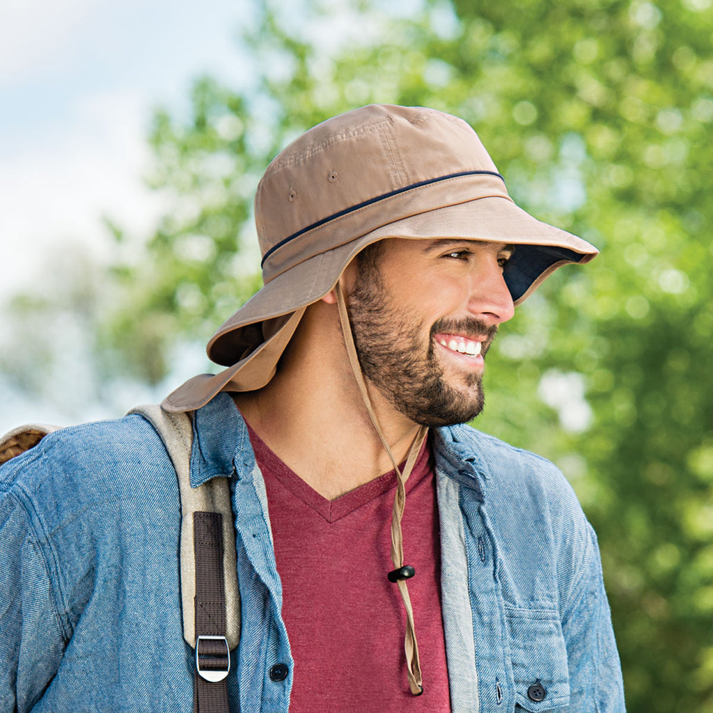 The Shelton Hat is a must have for travel. Travel Weekly loves the UPF 50+ sun protection.