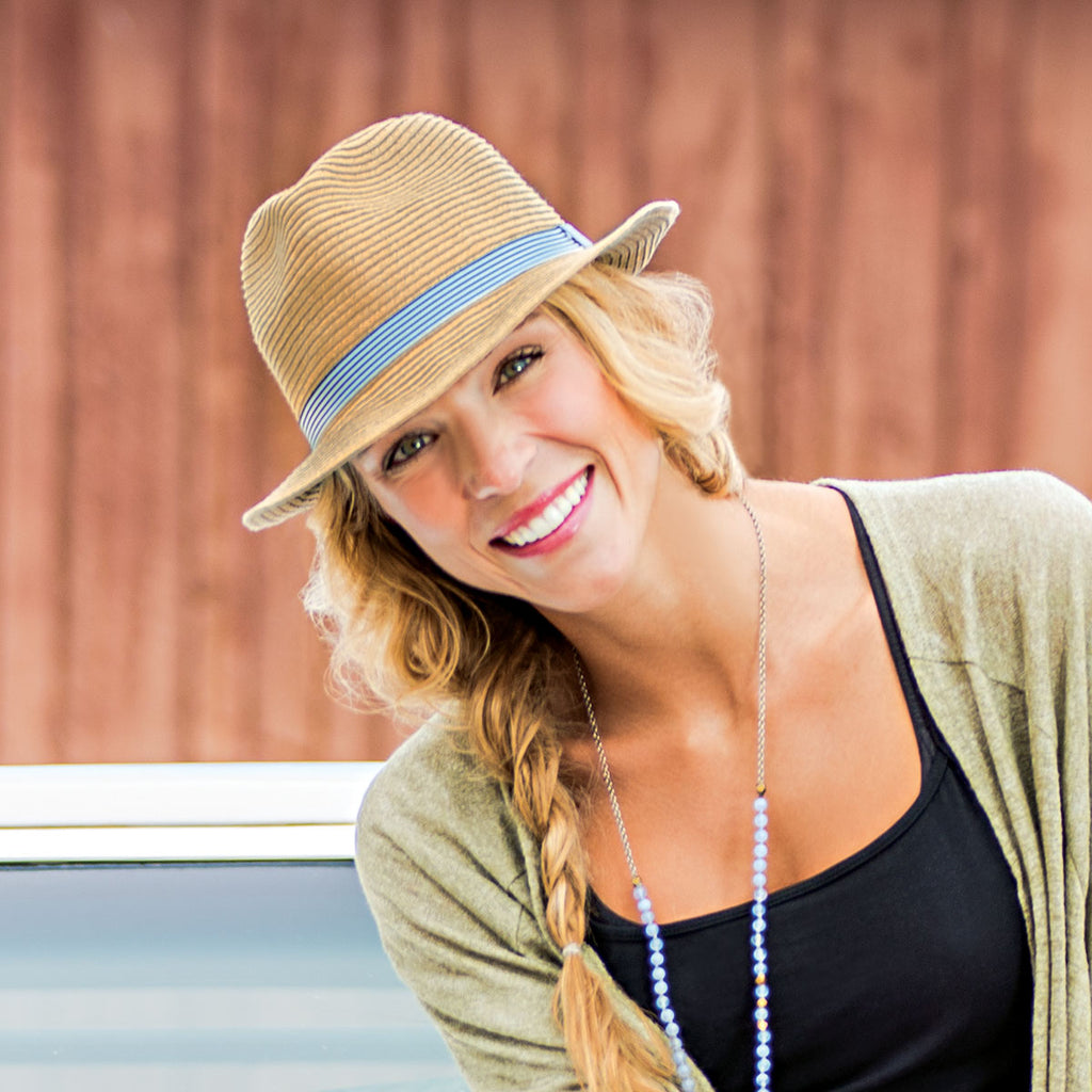 Colorado Country Life loves Wallaroo's Trilogy Trilby. Great hat for those weekend hikes in the mountains.