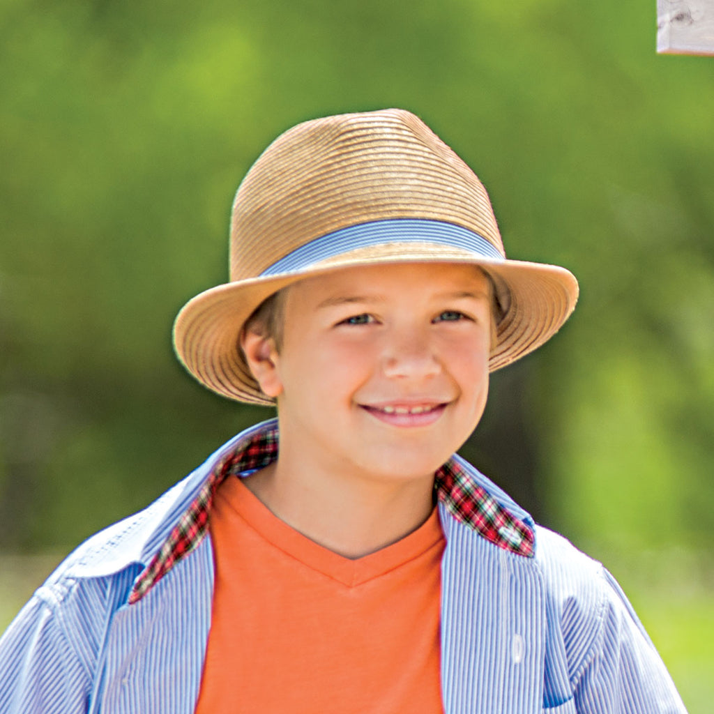 Wallaroo's Trilogy Trilby will dress kids up for the summer and keep them safe from the sun!