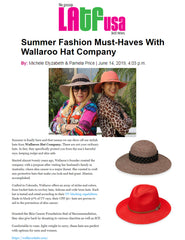 Wallaroo Hat News
