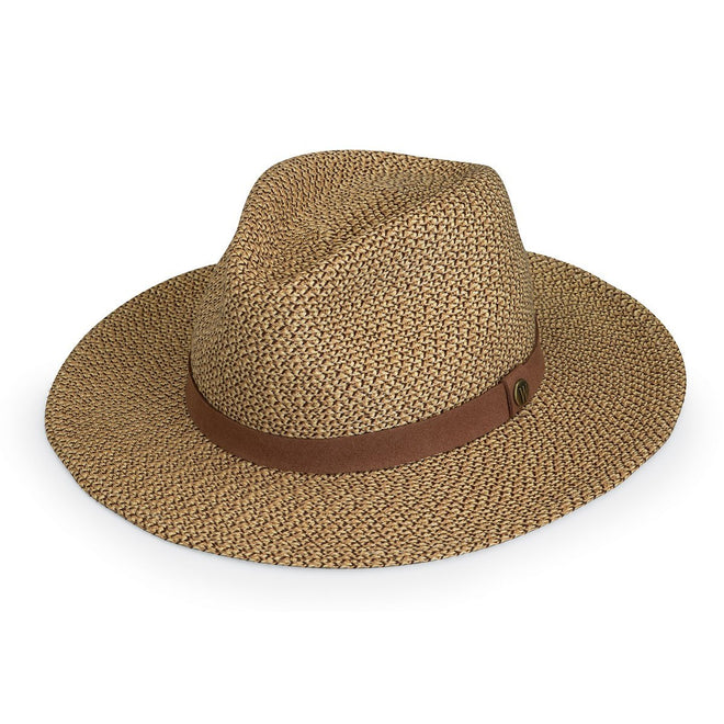 The Outback safari hat is great for the outdoors with a medium brim and high sun protection.