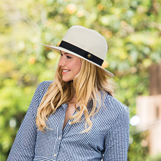 The Palm Beach, like several Wallaroo beach hats, can be enjoyed by men and women.