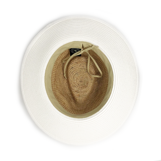 The Laguna sun hat features a simple, yet chic design.