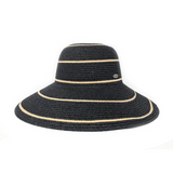 This wide brimmed Spanish hat can protect your head and shoulders from the sun with UPF 50+.