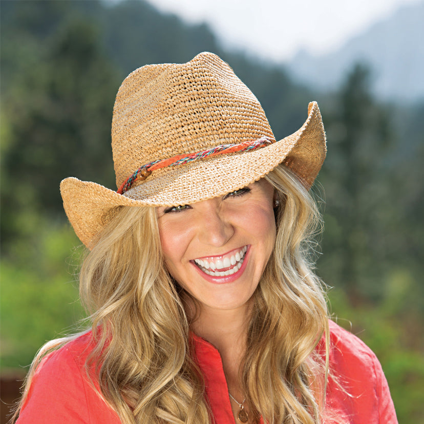 Lifestyle image of someone wearing the Catalina Cowboy.