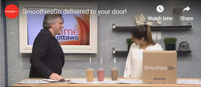 ROGERS TV - SmoothiesGo delivered to your door!