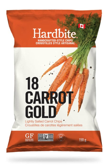 18 Carrot Gold Handcrafted Chips by Hardbite 150g