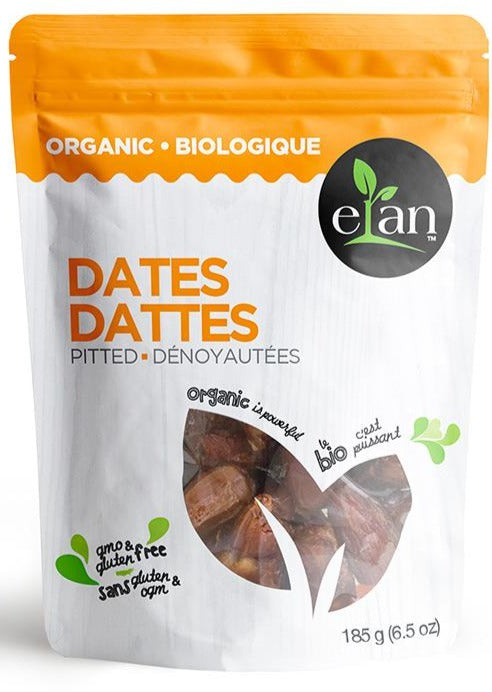 Dates by Elan 185g Organic