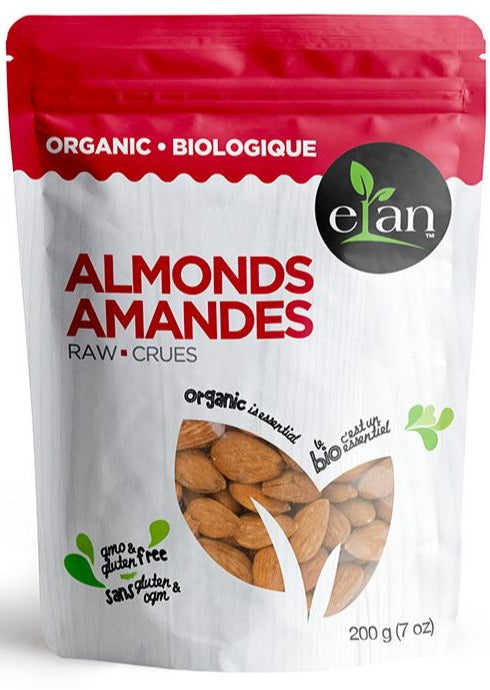 Raw Almonds by Elan 200g Organic