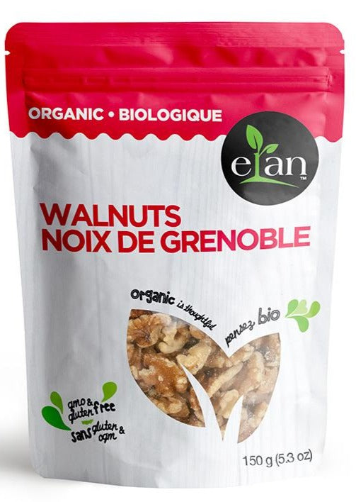 Walnuts by Elan 150g Organic