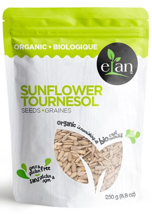 Sunflower Seeds by Elan 250g Organic