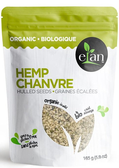 Hemp Seeds by Elan 165g Organic