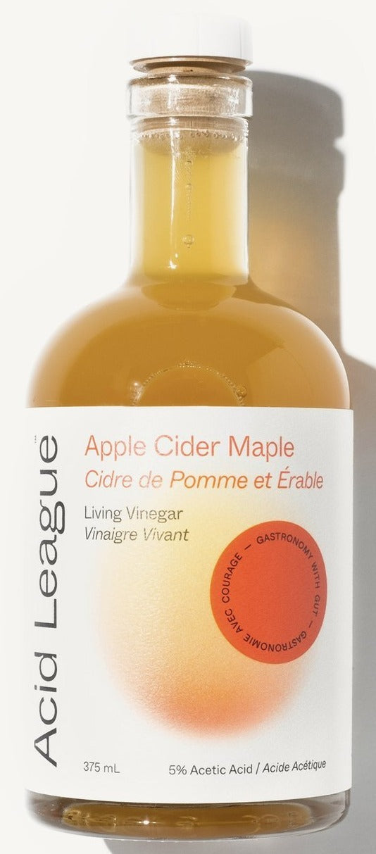 Apple Cider Maple Living Vinegar by Acid League 375ml