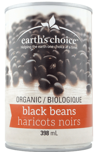 Black Beans by earth's choice 398ml