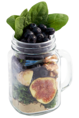BLISS-Blueberry Fig Smoothie|BONHEUR-Smoothie-Bleuets et figues
