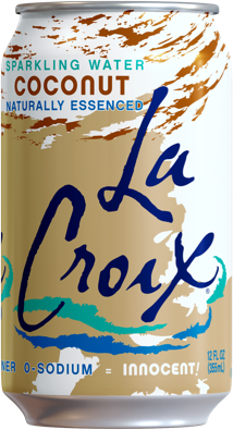 Coconut Sparkling Water by LaCroix, 8 cans
