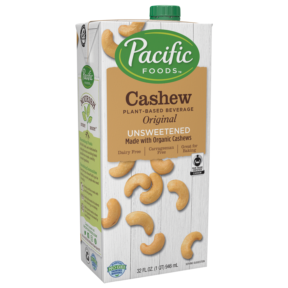 Unsweetened Cashew Milk 946ml, Organic by Pacific Foods